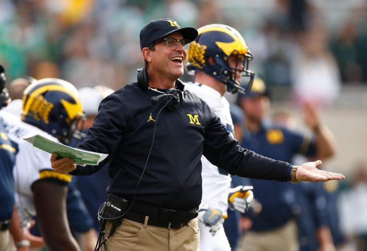 Harbaugh Gets His
