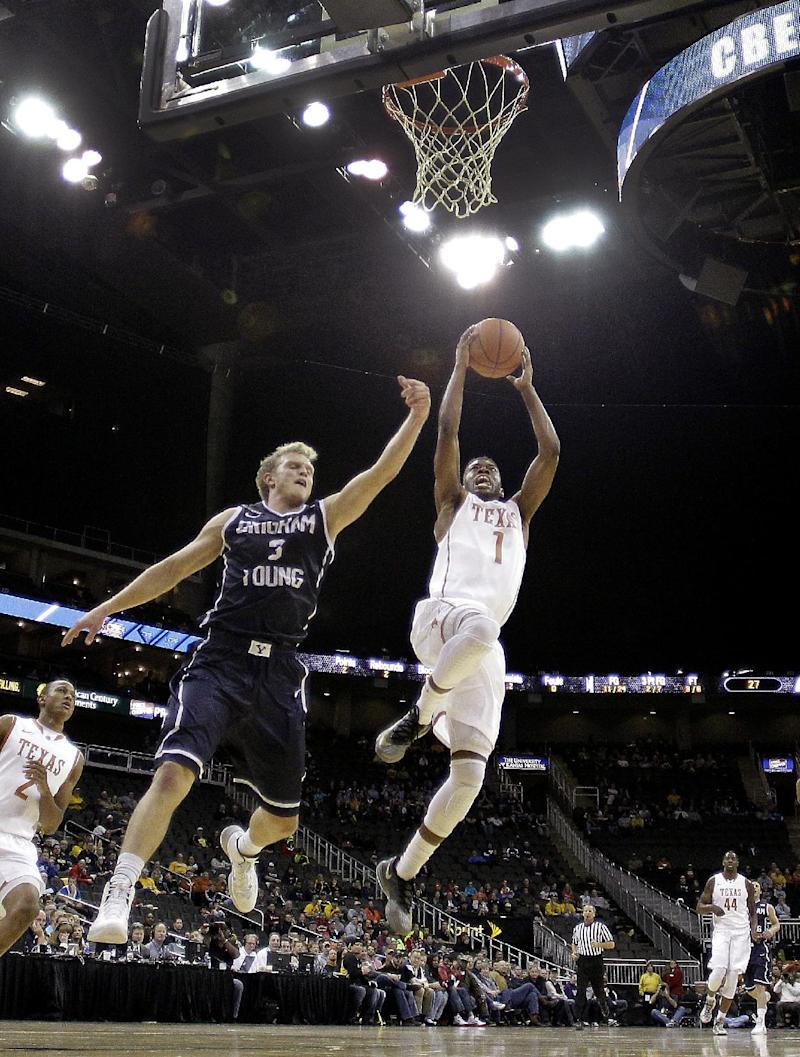 Haws lifts BYU to 86-82 victory over Texas