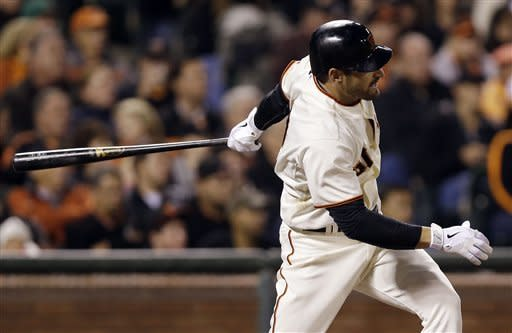 Lincecum pitches Giants past Rockies 6-3