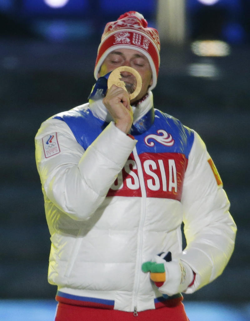 On home ice and snow, Russians win medals tally