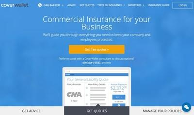 CoverWallet's Insurance Platform - Learn, Buy and Manage Your Business Policy Online