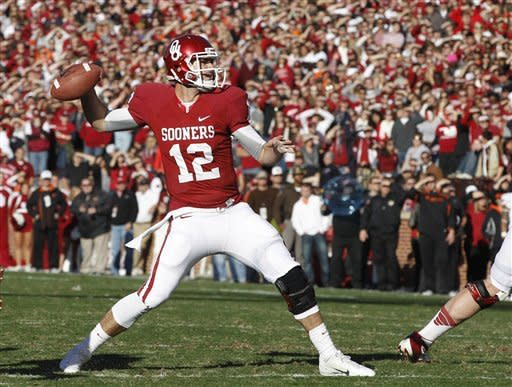 Clay's TD lifts No. 14 Sooners to 51-48 Bedlam win