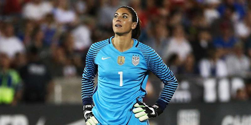 Hope Solo you