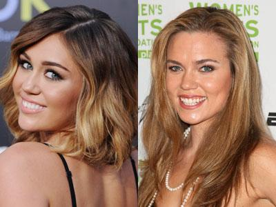 Miley Ray Cyrus / Natalie Coughlin