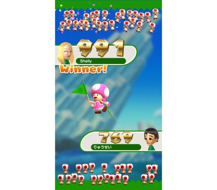 Super Mario Run online play.