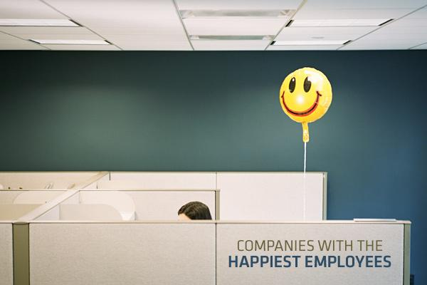 "Last year, Google was named the ""Happiest Company in America"" in an annual survey by job-satisfaction–focused web resource CareerBliss.com. Lately, however, Google's looking a little blue: In the most recent survey, the Internet search engine company didn't even make the top 50. Various industries made it onto the 2012 CareerBliss survey, including financial giants, utility companies, pharmaceutical corporations and even the U.S. military. Retail and hospitality companies are new to the top 10 list this year. The CareerBliss survey is based on more than 100,000 independent employee-generated reviews. The list is determined by employee's ratings on their work-life balance, their relationships with their bosses and co-workers, their work environments, job resources, compensation, growth opportunities, company culture and reputation, their daily tasks, and finally the job control over the work they do on a daily basis. The data show how an employee values each factor. Each review is given an average score indicating where the company places between one and five. In all, data from employees of more than 10,000 companies were analyzed. What follows is the top 10 from the list of the ""50 Happiest Companies for America"" for 2012, including each company's overall ""Bliss Score"" and the top three ranking categories. Spoiler: Great co-workers make a huge difference in job satisfaction. The one highly rated factor shared by each of the top 10 companies is ""the people you work with."""
