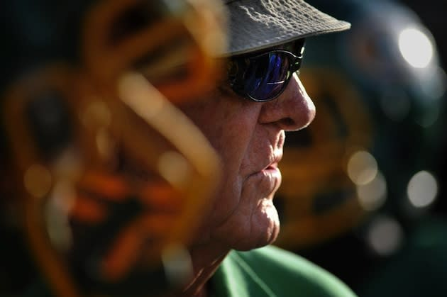 All-time football wins leader John McKissick, who earned the 600th victory of his career Friday — AP