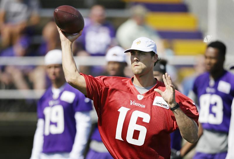Another camp, another QB competition for Vikings