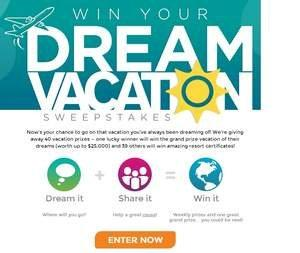 Dreaming of Your Next Vacation? Win One of 40 Giveaways With RCI's 'Win Your Dream Vacation' Sweepstakes