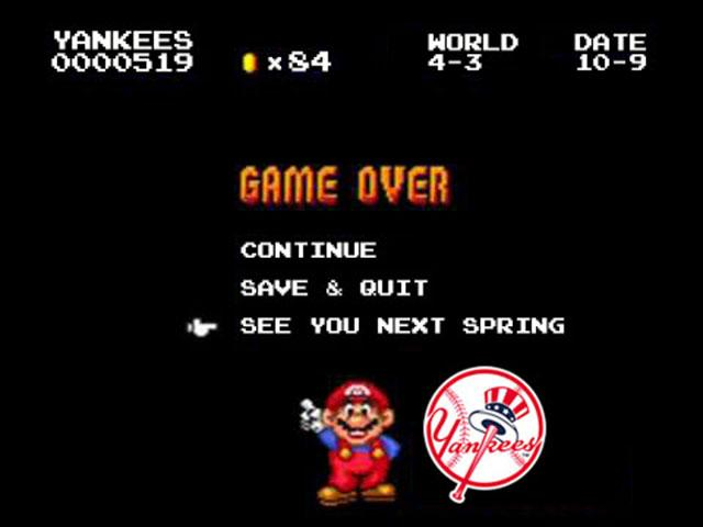 Game Over: The 2016 New York Yankees