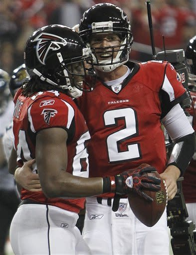 Ryan, Abraham lead Falcons to 41-14 rout of Jags