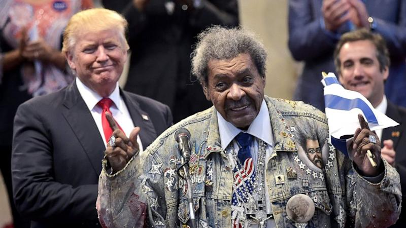 Don King drops the N-word while introducing Trump at black church