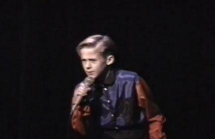 "2. Young Gosling singing ""When a Man Loves a Woman"" and breaking it down It's almost enough to make you burn all the home movies of your own childhood talent shows because, really, we did not have movies like Ryan Gosling did in 1991. Nor did we have the pipes or the snazzy purple and red button-down shirt. Seeing this video makes everyone's life suddenly very clear: there are people who enjoy dancing and singing, there are people who are meant to dance and sing, and then there's 10-year-old Ryan Gosling. Also, Gary Saldivia, the owner of the footage, said Gosling ""used to always carry around Bubblicious bubble gum and give me some."" Even as a kid, Gosling was way more awesome than we will ever be."