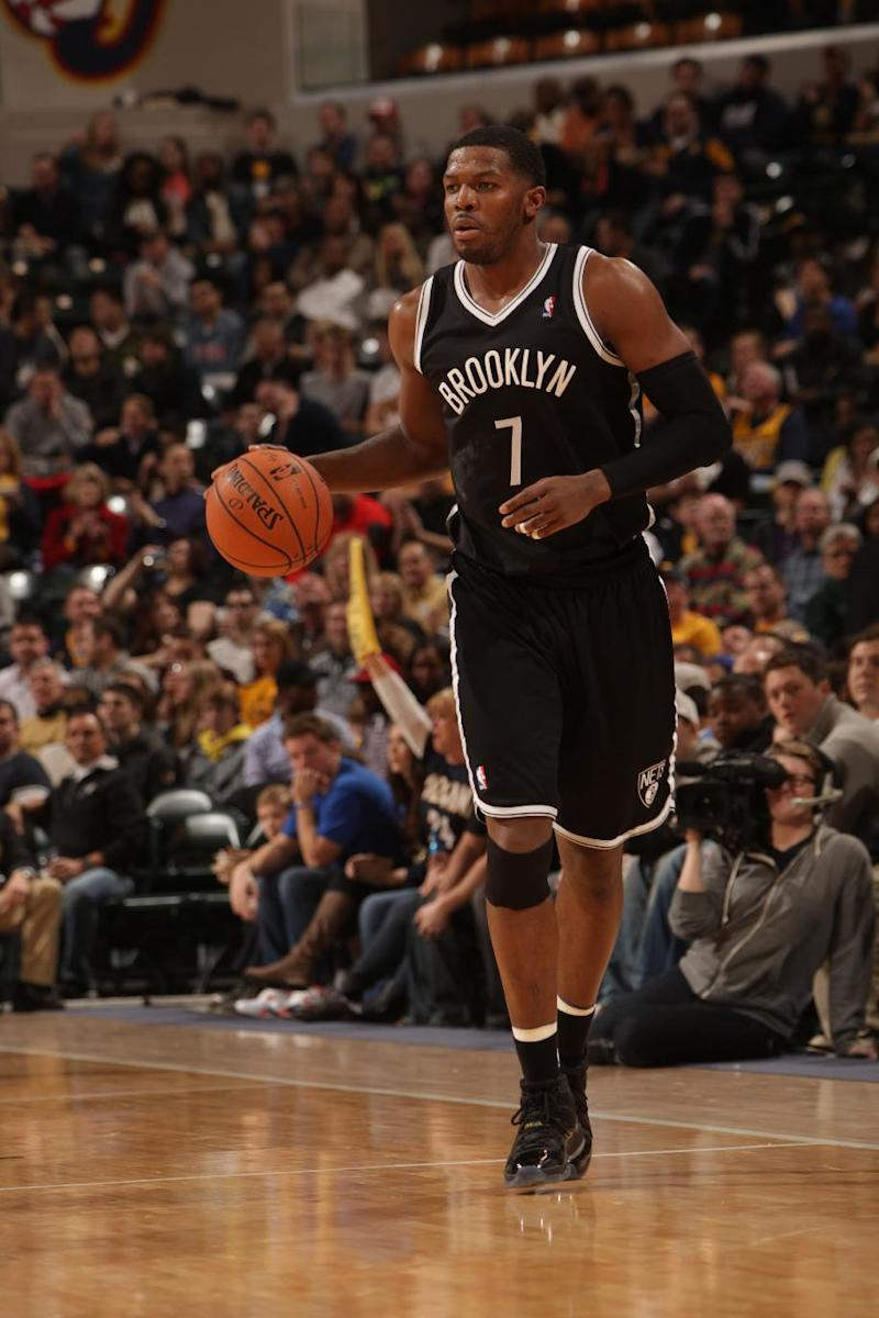 Nets' Johnson out with right knee tendinitis