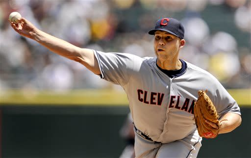 Masterson throws 3rd shutout, Indians beat Chisox