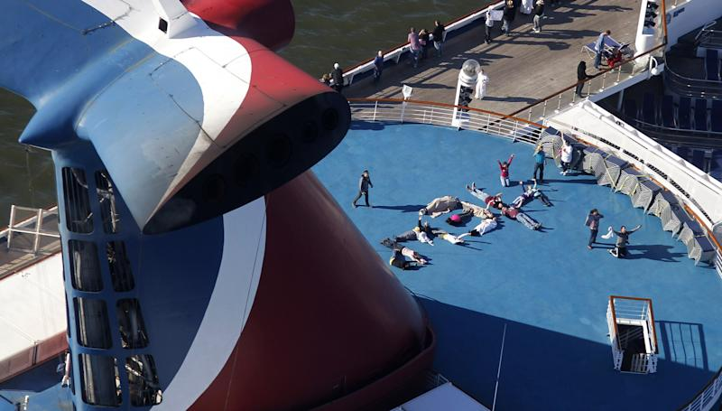 Suit: Fire risk known before Carnival ship sailed