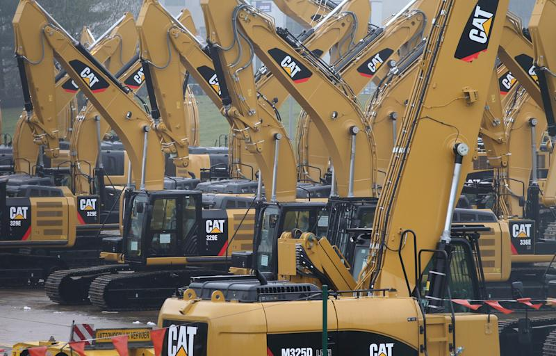 Caterpillar to cut 1,400 jobs at plant in Belgium
