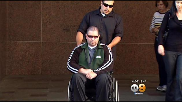 Giants fan Bryan Stow was left with permanent brain damage after he was beaten on Opening Day 2011. (KCAL)