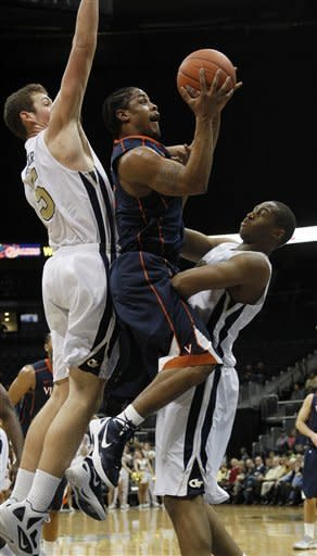 Harris leads Virginia to 70-38 rout of Ga. Tech
