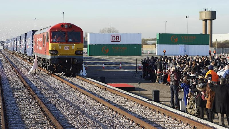 First Silk Road Train Arrives In Uk