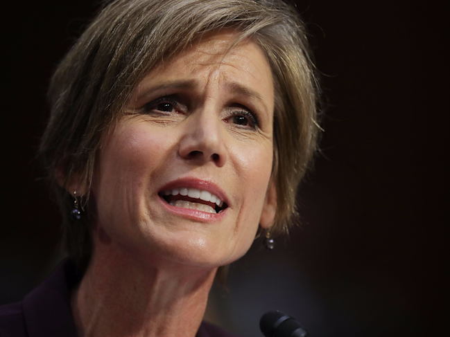 Yates tells senators she warned Trump about Michael Flynn