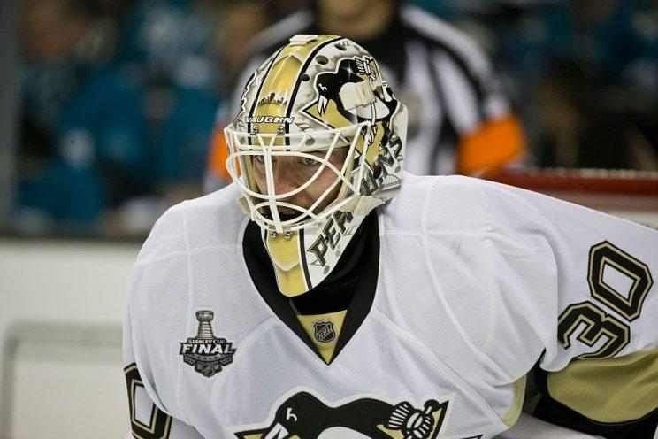 Penguins sign goalie Murray to 3-year extension