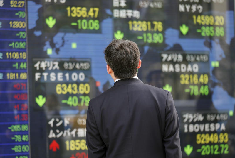 Global markets hit by growth concerns