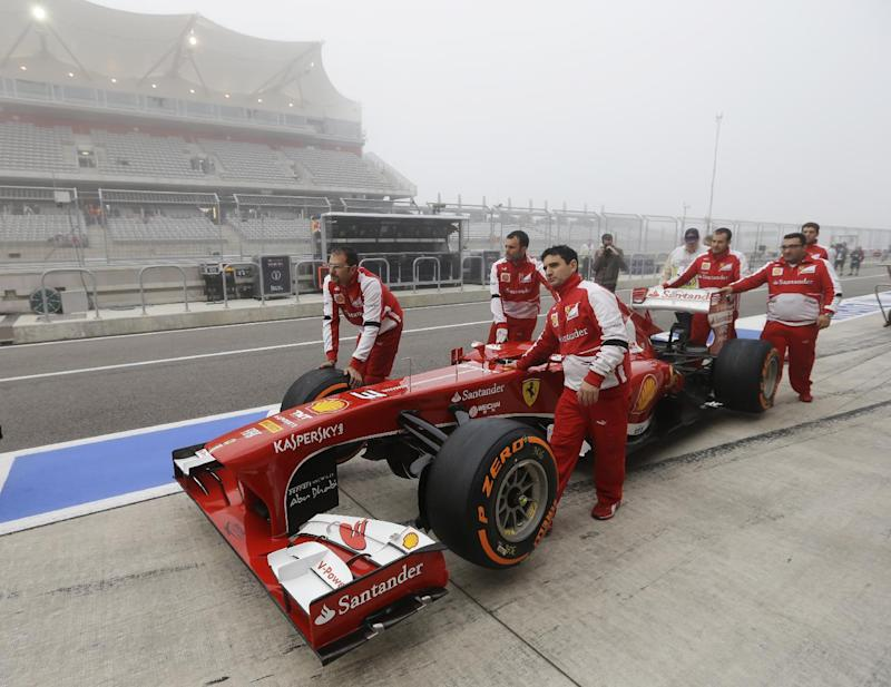 Vettel sets pace in 2nd practice at US Grand Prix