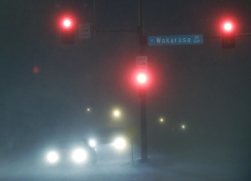 Driving hazardous, deadly as storm slams Kansas
