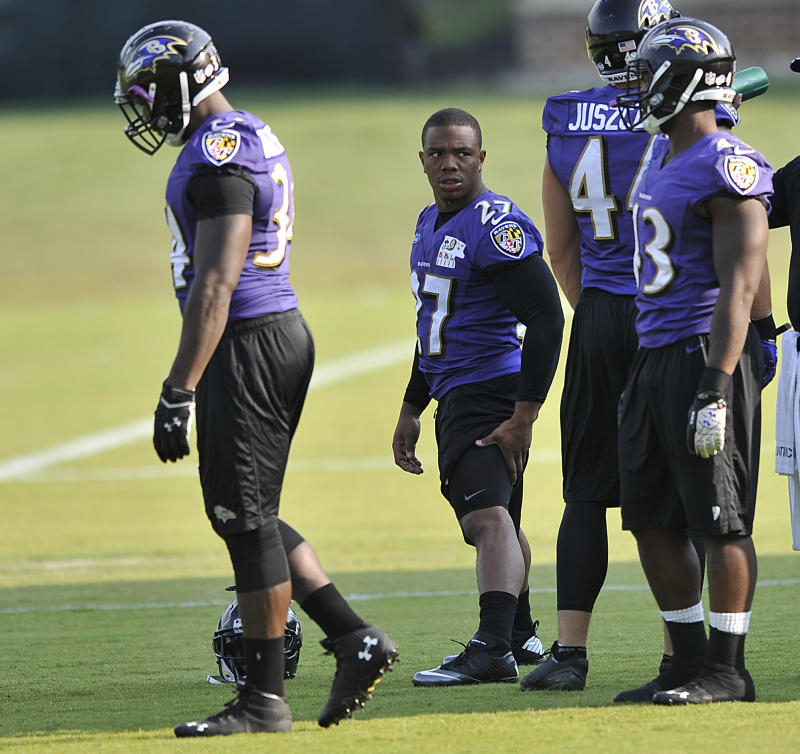 Ravens' Rice: His actions 'totally inexcusable'