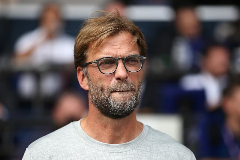 Liverpool's German manager Jurgen Klopp looks on before the English Premier League football match between Tottenham Hotspur and Liverpool at White Hart Lane in London, on August 27, 2016