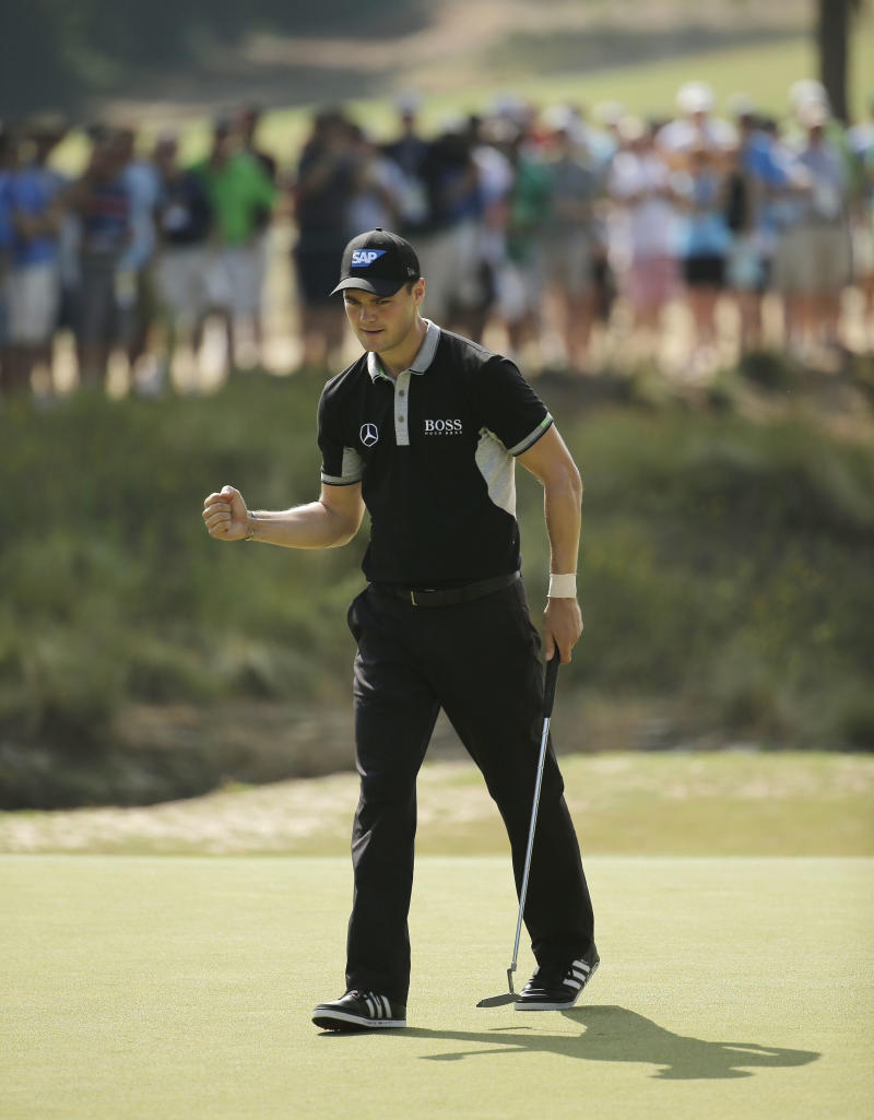 Kaymer still has plenty of work ahead at US Open
