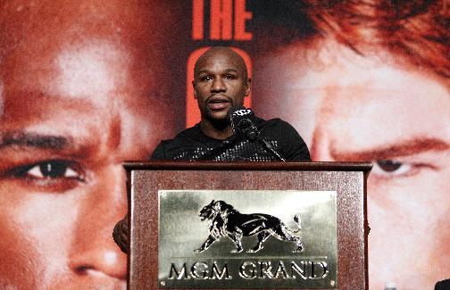 Weighty issues, big money for Mayweather-Alvarez