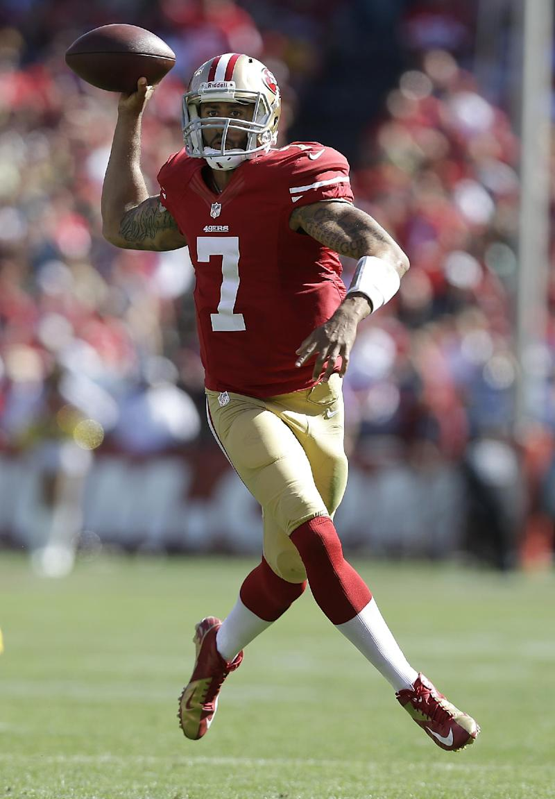 Kaepernick delivers to lead 49ers past Packers