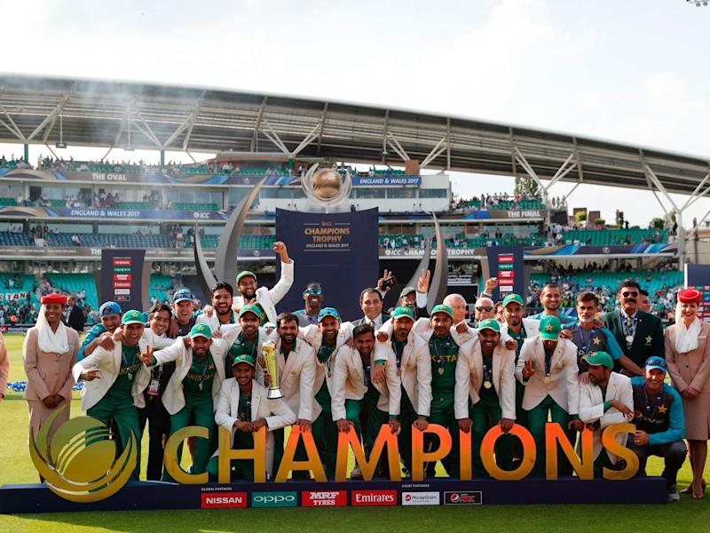 Pakistan were crowned champions at The Oval (Getty)