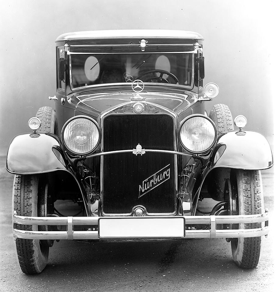 Pullman sedan for the pope: In 1930 the Vatican received a Mercedes-Benz Nürburg which had been individually converted as a present for the Holy Father.