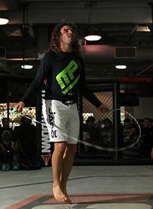 Clay Guida is both a UFC fan and contender