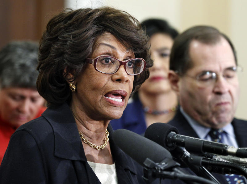 No ethics charge for Democratic Calif. Rep. Waters
