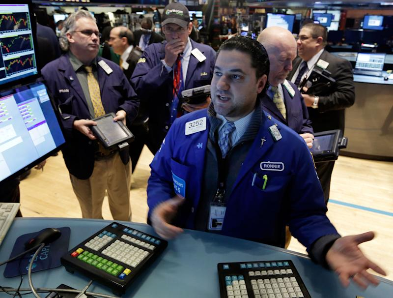 US stocks end higher; Dow has its best day of 2014