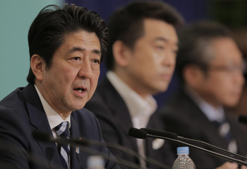 Japan PM slams China at debate ahead of elections