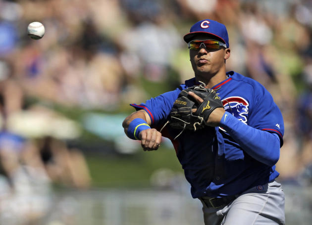 The Cubs have called up Javier Baez, one of their slugging young prospects. (AP)