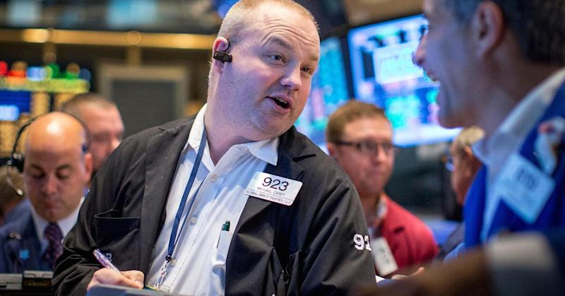 Dow up triple digits as oil jumps 2%; Street digests upbeat US economic data