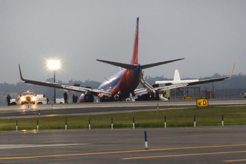 NTSB: Capt took command before NY landing accident