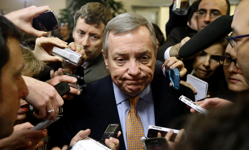 Some Dems: drive over 'fiscal cliff,' then bargain