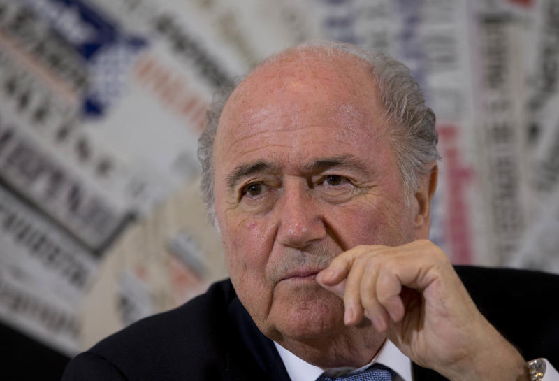 Blatter condemns racist behavior by Betis fans