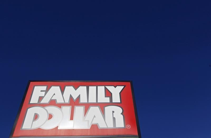 A Family Dollar store is seen in Chicago