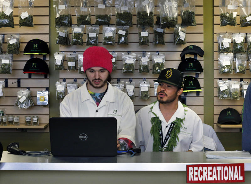 Colorado collects $2M in recreational pot taxes