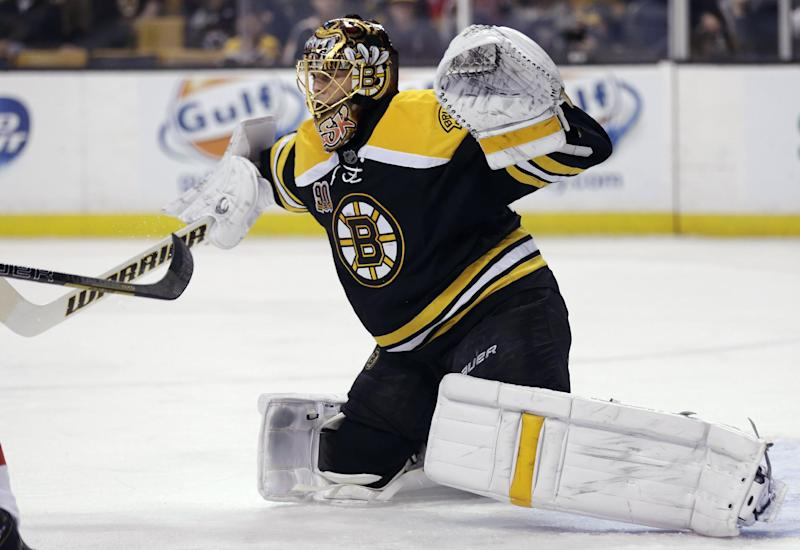 Rask's 6th shutout gives Bruins 3-0 win over Caps