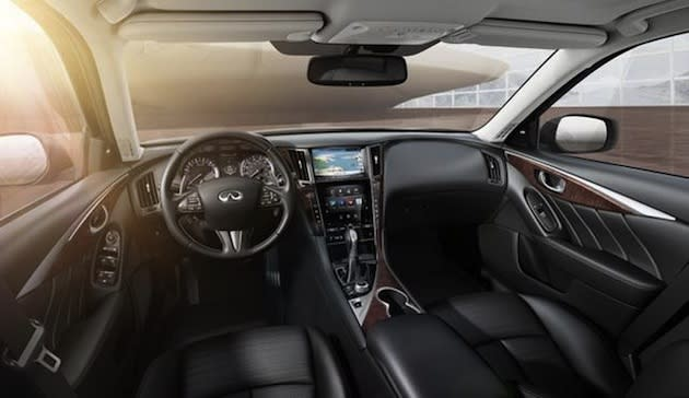 The car boasts a new dual-screen infotainment system and lots of other tech features.