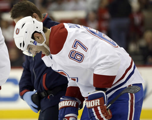 US Olympic LW Pacioretty injured with Canadiens